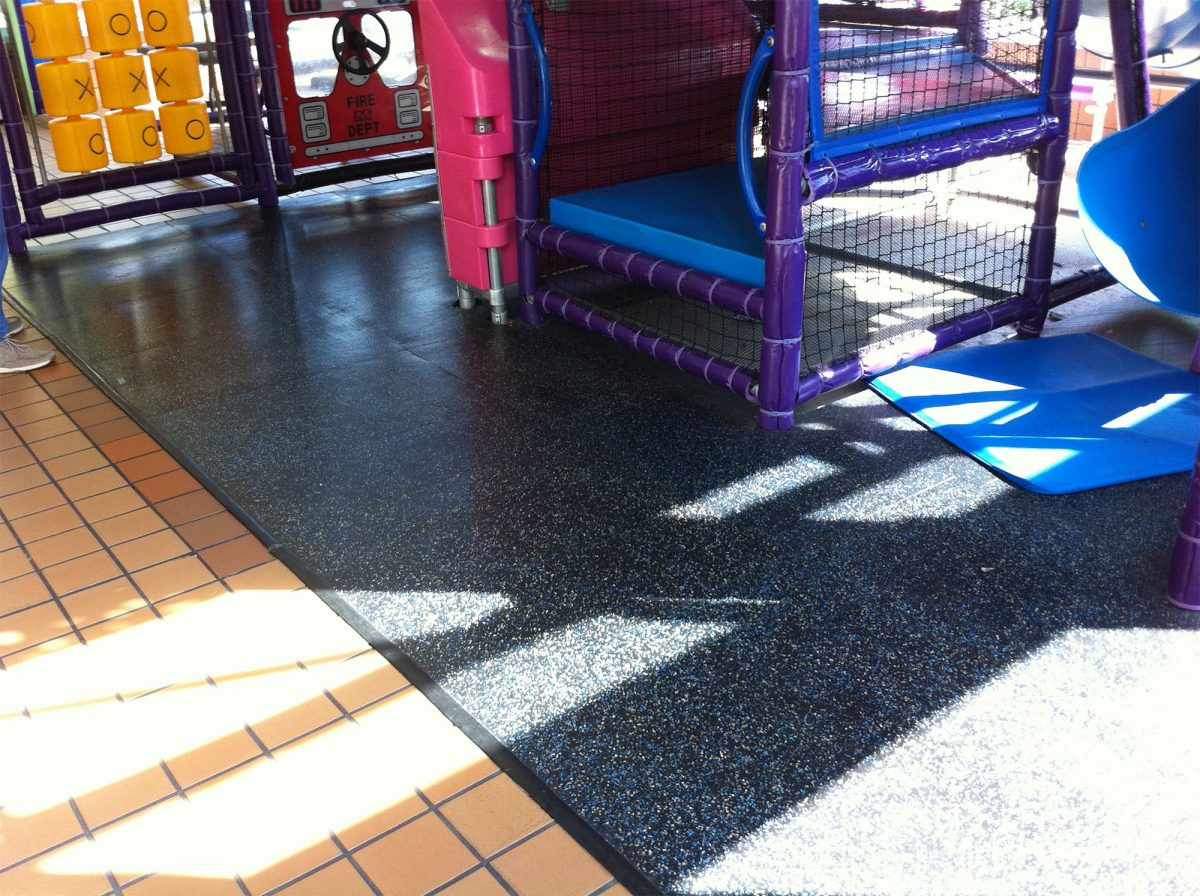 Seamlessly Integrated Into Play Areas Everywhere
